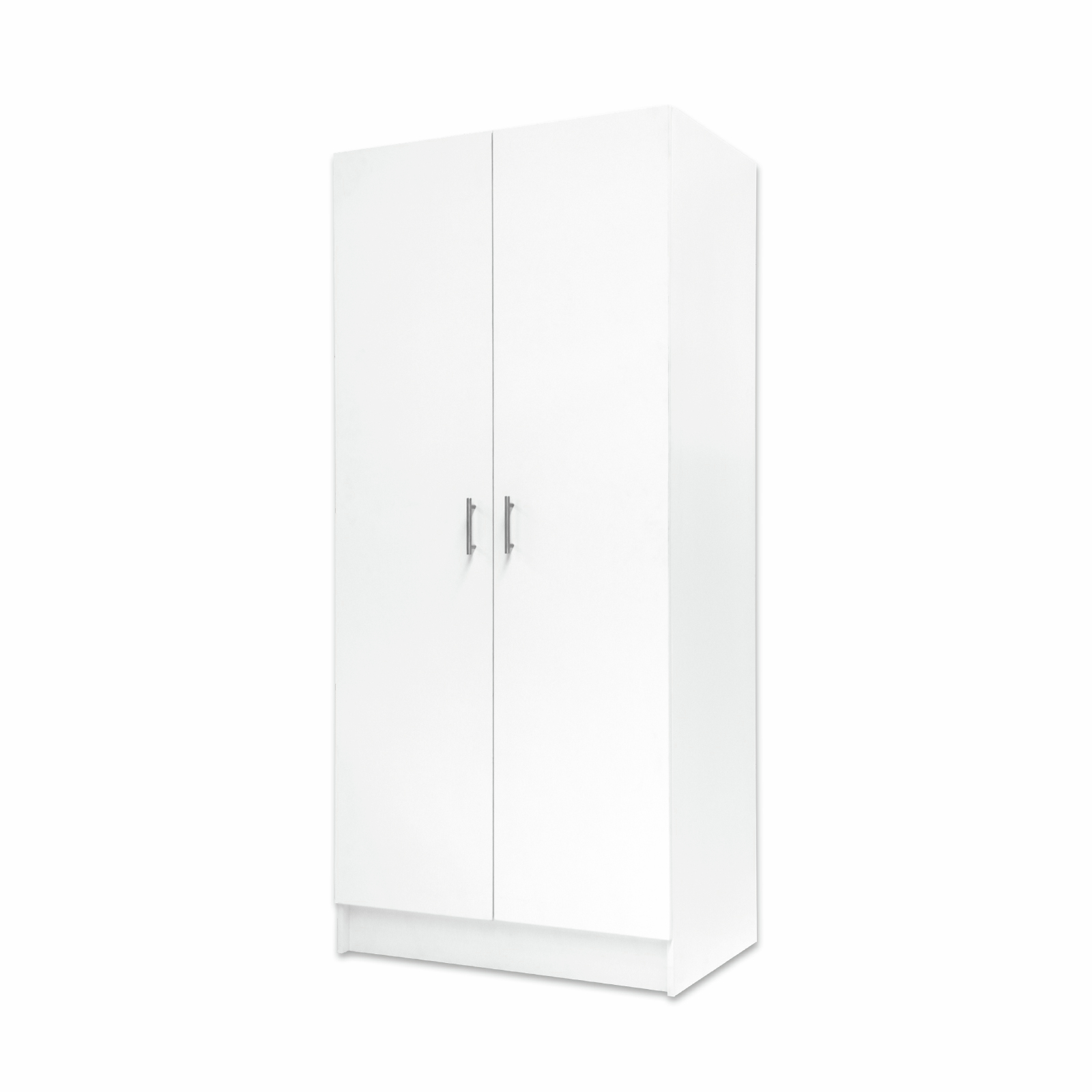 Bedford 900mm White 2 Door High Moisture Resistant Split Slimline Cabinet