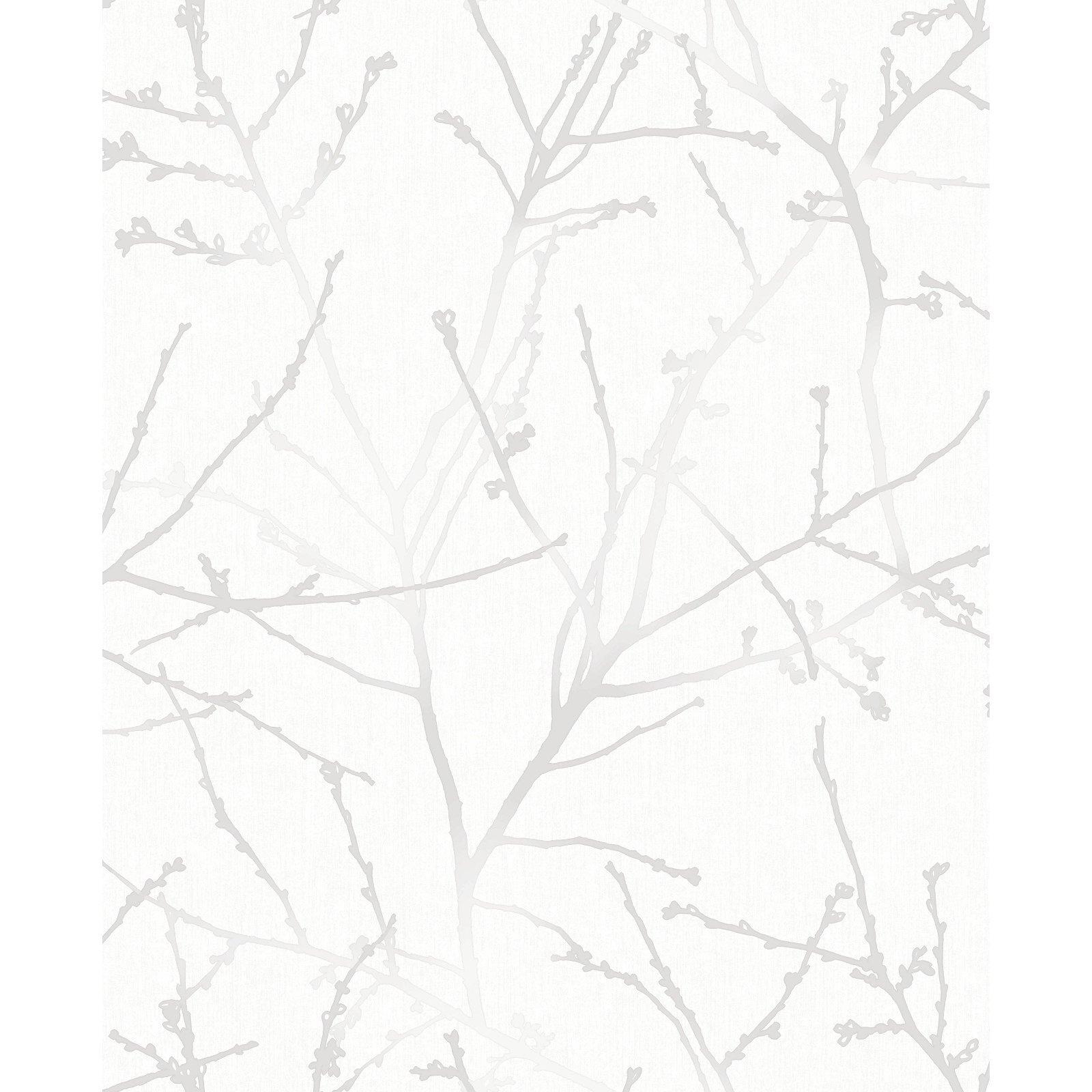 Superfresco Easy 52cm White / Mica Innocence Wallpaper - White / Mica Innocence ½m