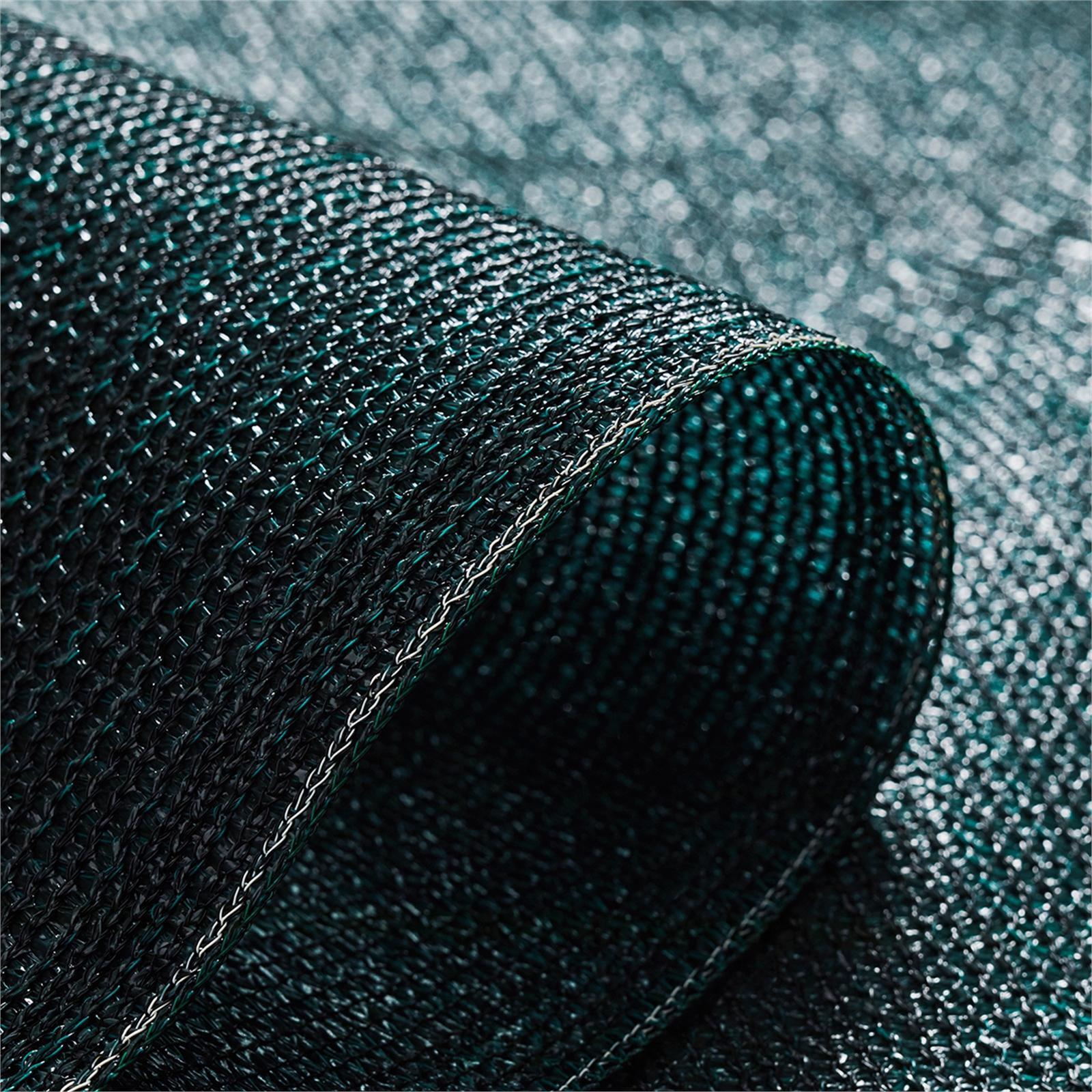 Coolaroo 3.66m Rainforest 90% UV Heavy-Duty People Cover Shade Cloth - Per Metre