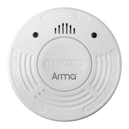 Arma Photoelectric Smoke Alarm With 10 Year Battery
