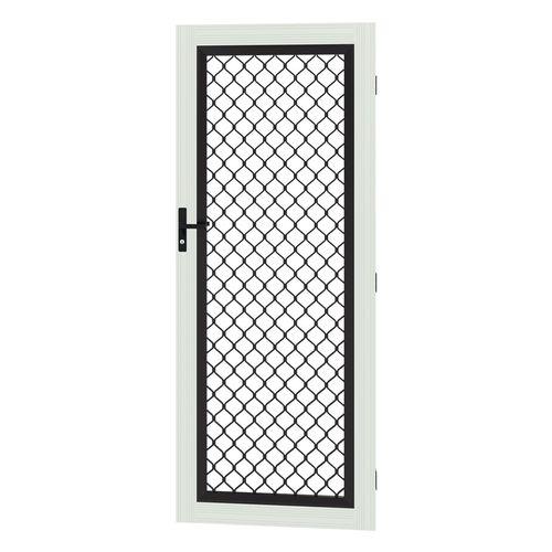 Protector Aluminium 808-848 x 2030-2070mm Adjustable Grille Barrier Door - Surfmist