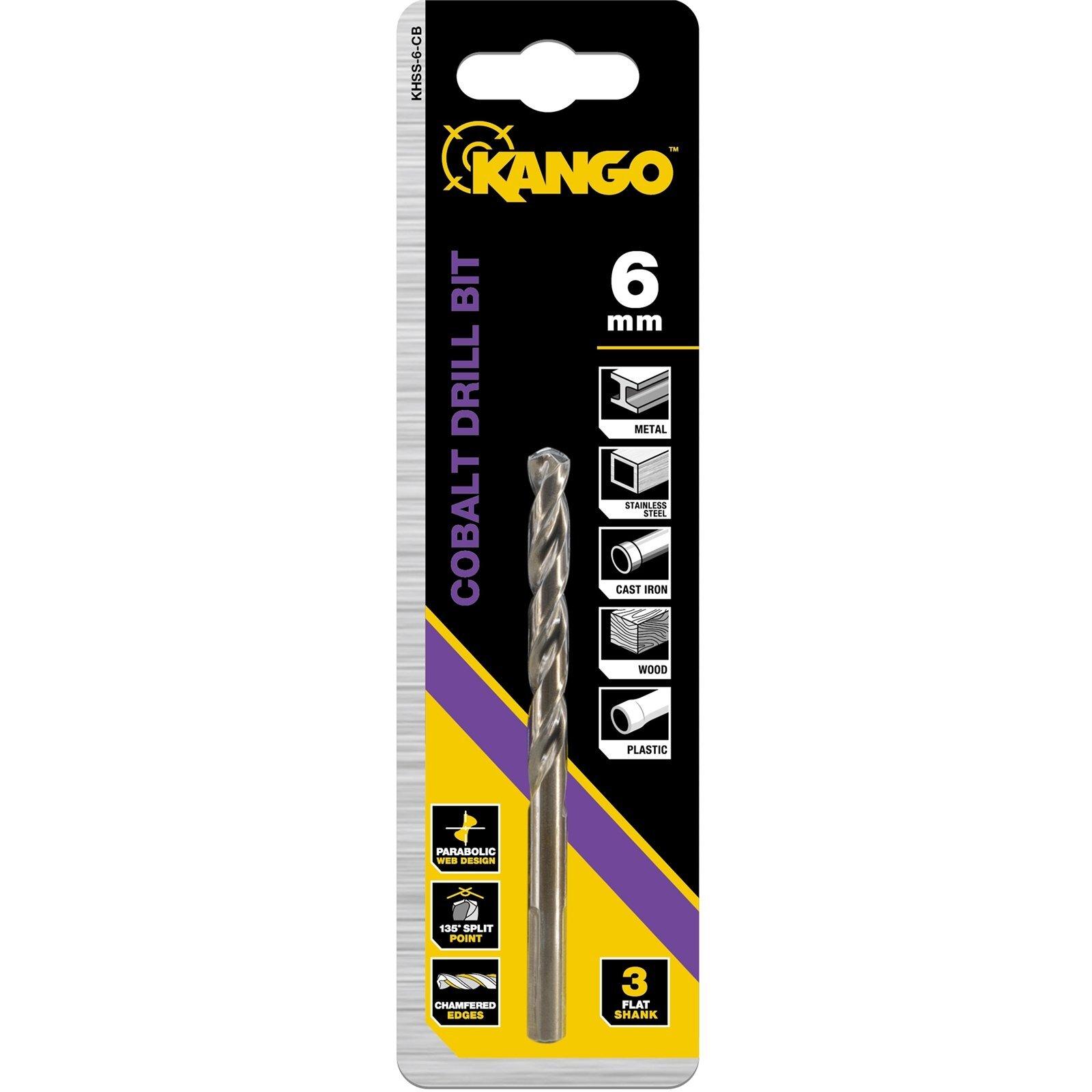 Kango 6mm Cobalt Drill Bit