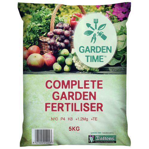 Daltons 5kg Garden Time Complete Garden Fertiliser