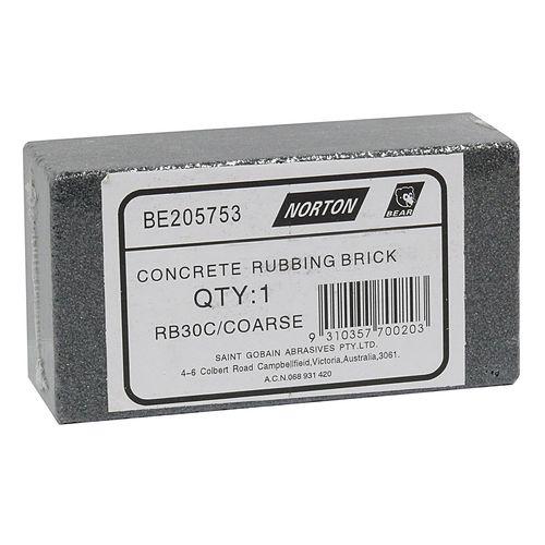 Stone Sharpening Norton Concrete Rub Coarse Be205753