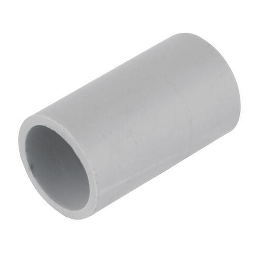 Deta 20mm Grey Conduit Fittings Plain Coupling
