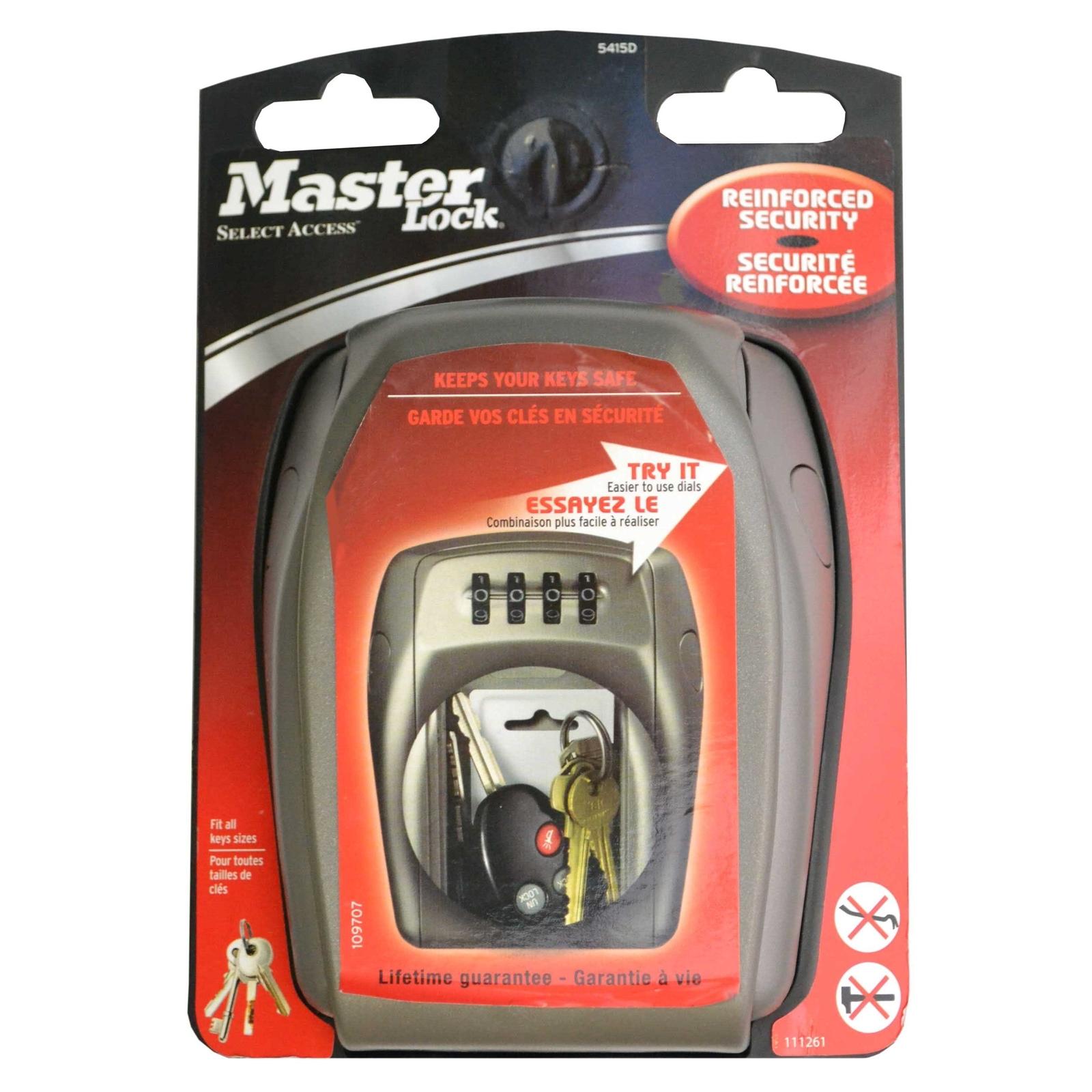 Master Lock Heavy Duty Select Access Wall Key Safe