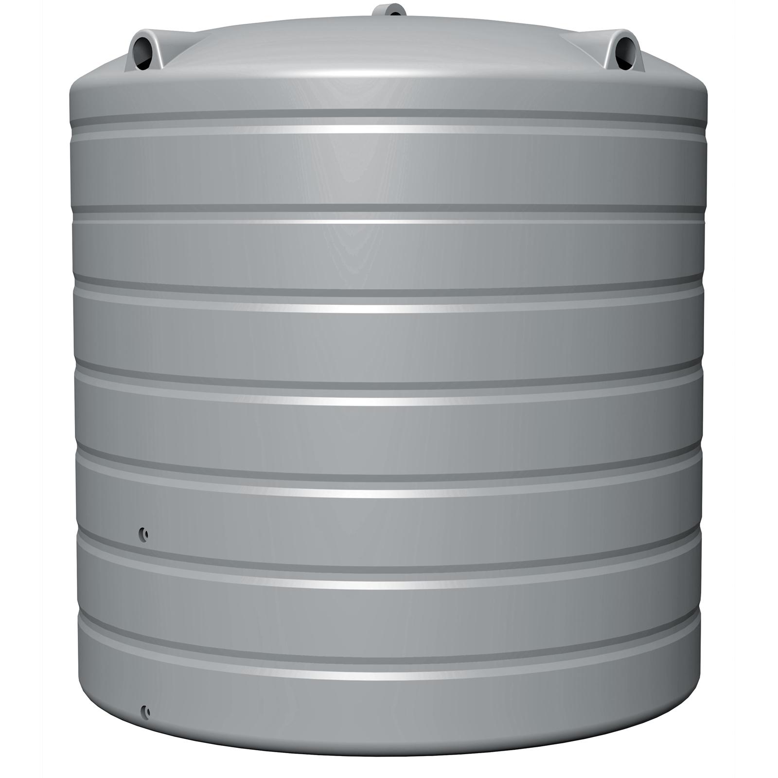 NextGenRoto 4200L Polyethylene Round Water Tank - Armour Grey