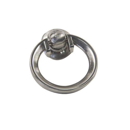 Sylvan Kilburn Ring Pull 50mm Satin Nickel Plated