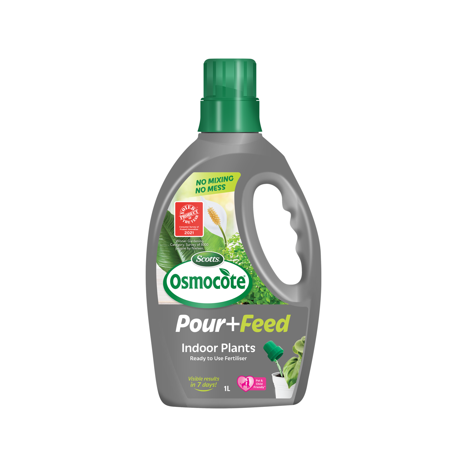 Scotts Osmocote 1L Pour+Feed Indoor Plants