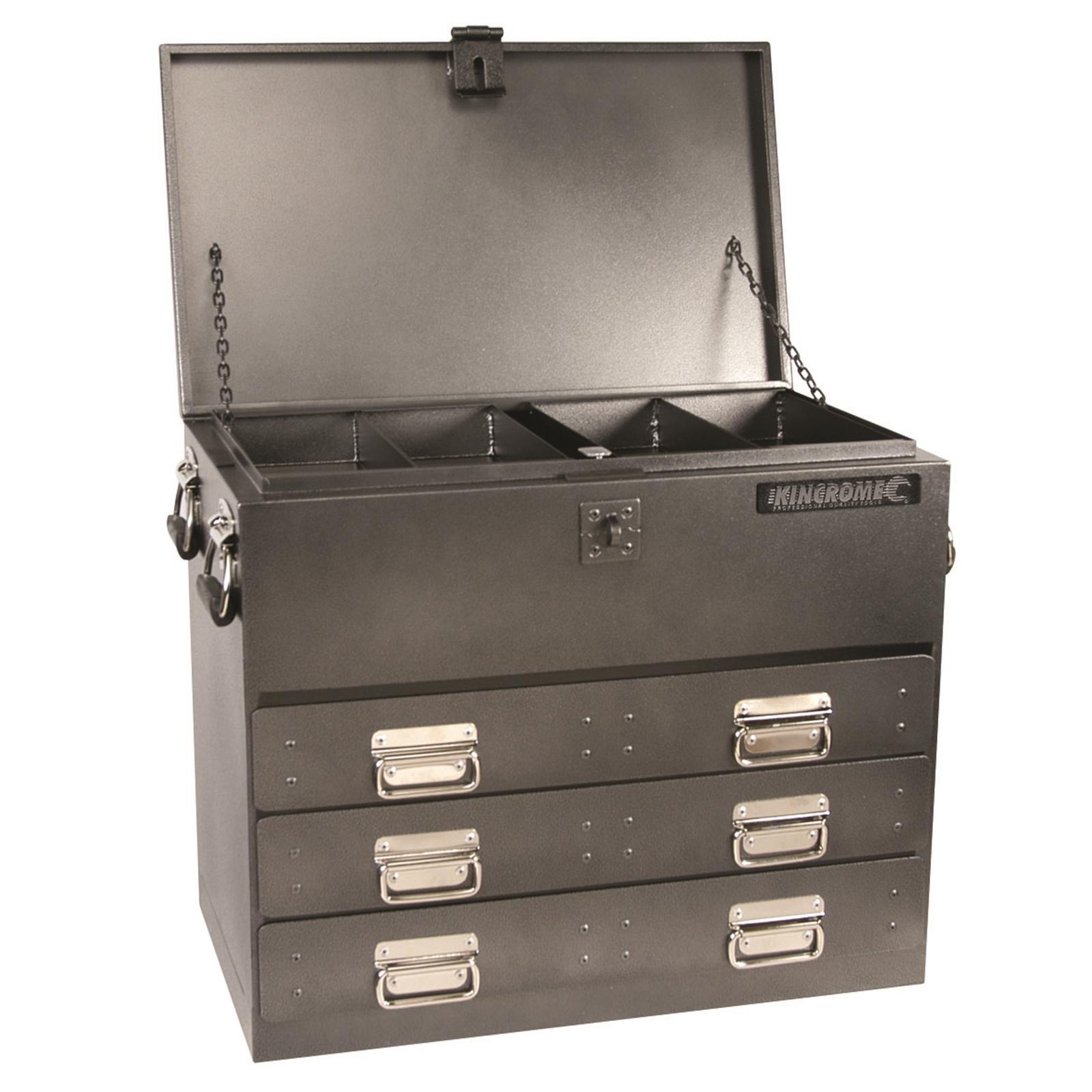 Kincrome 700 x 405mm x 590mm 3 Drawer Ute Tool Box
