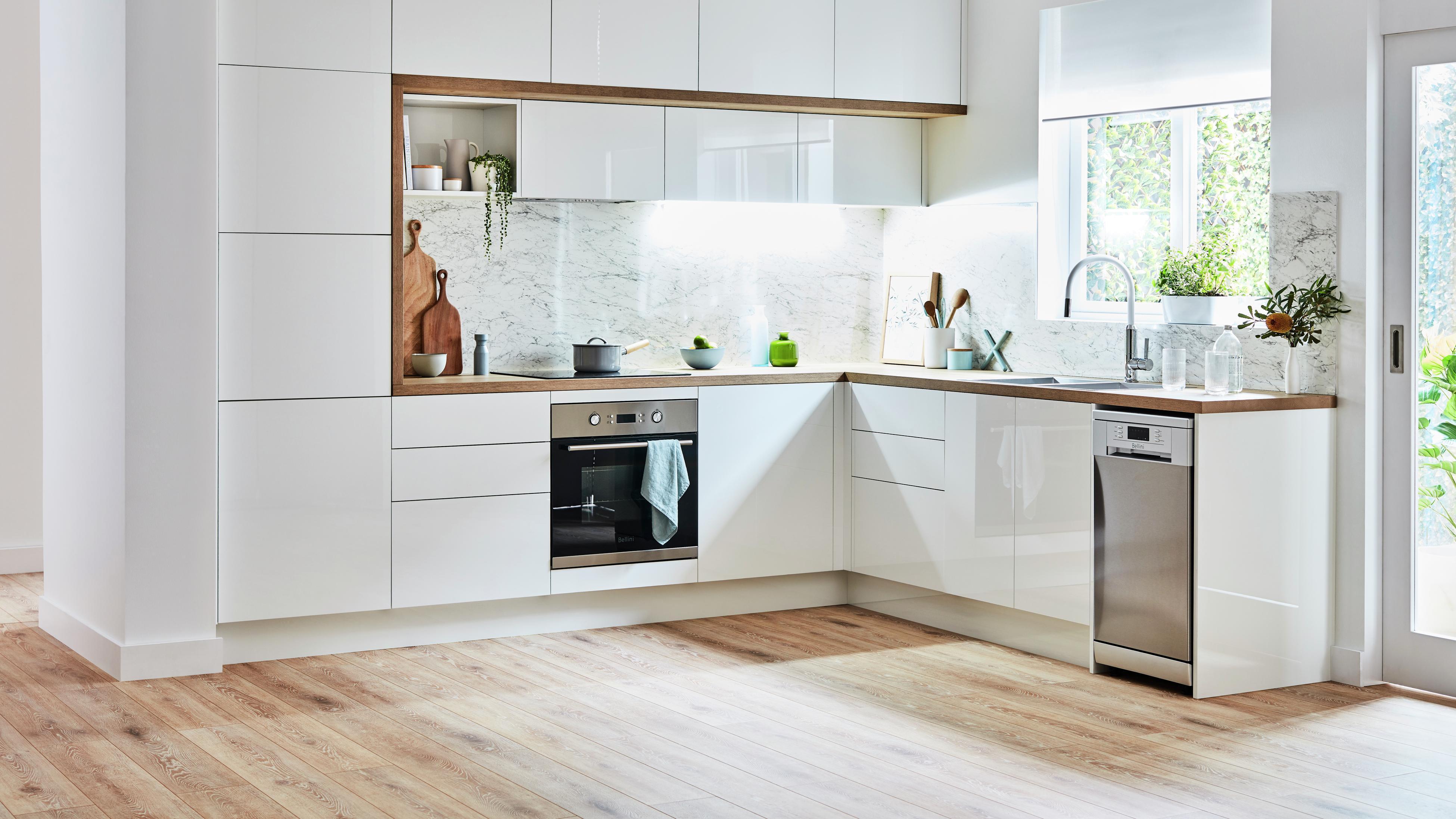Scandi style kitchen.