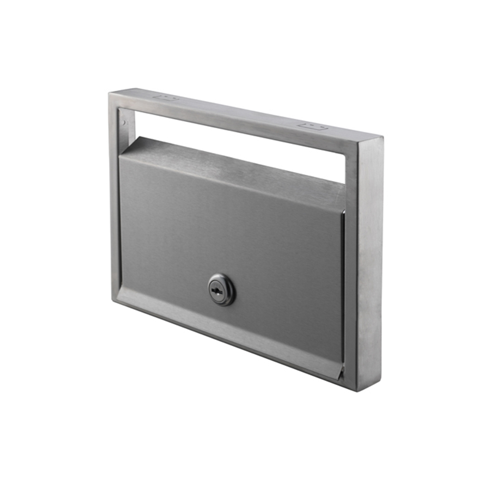 Sandleford Allora Front And Back Letterbox With Hinged Front