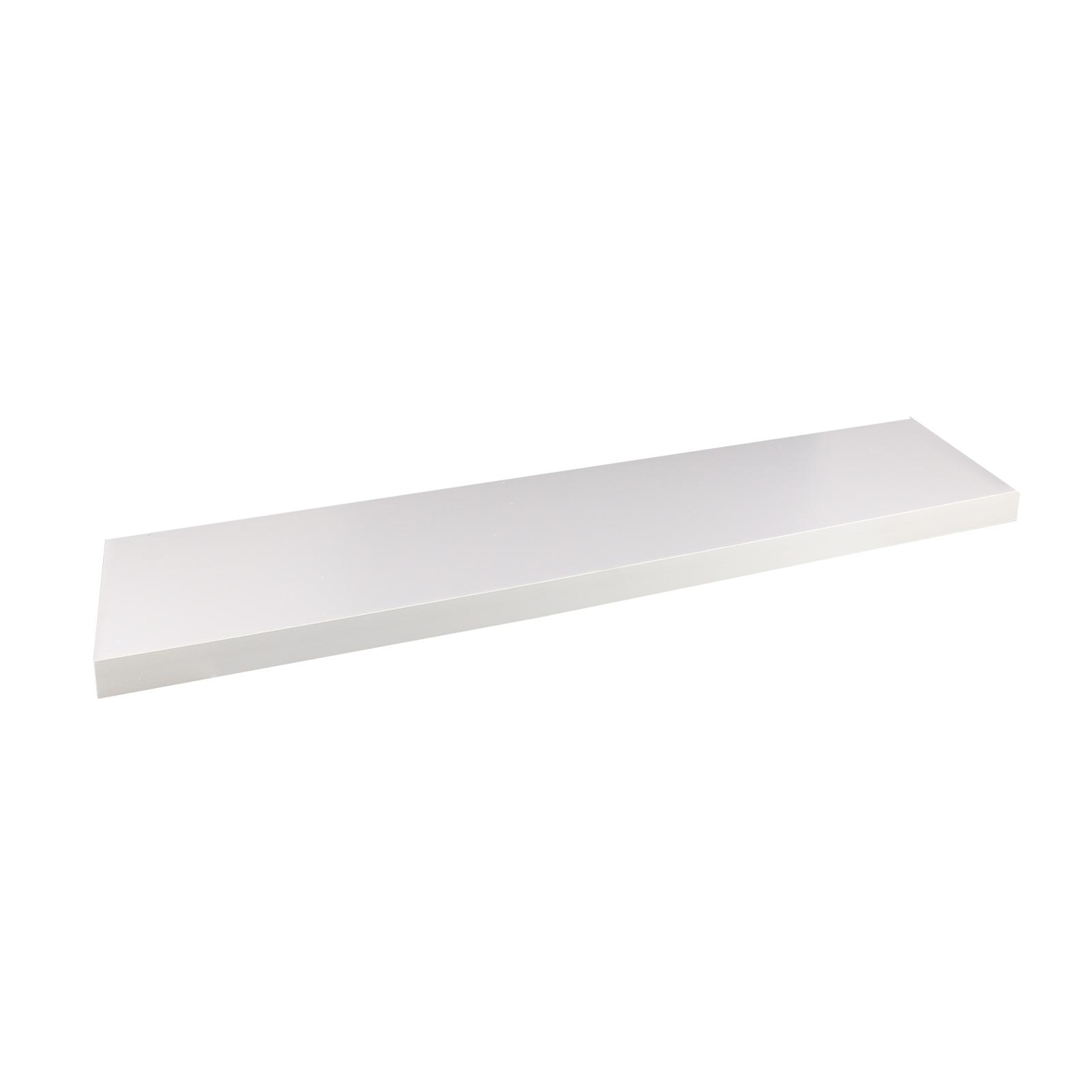 Flexi Storage 600 x 190 x 24mm White Matt Style Shelf