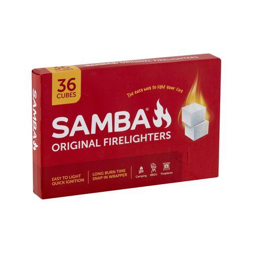 Samba Original Firelighters - 36 Pack