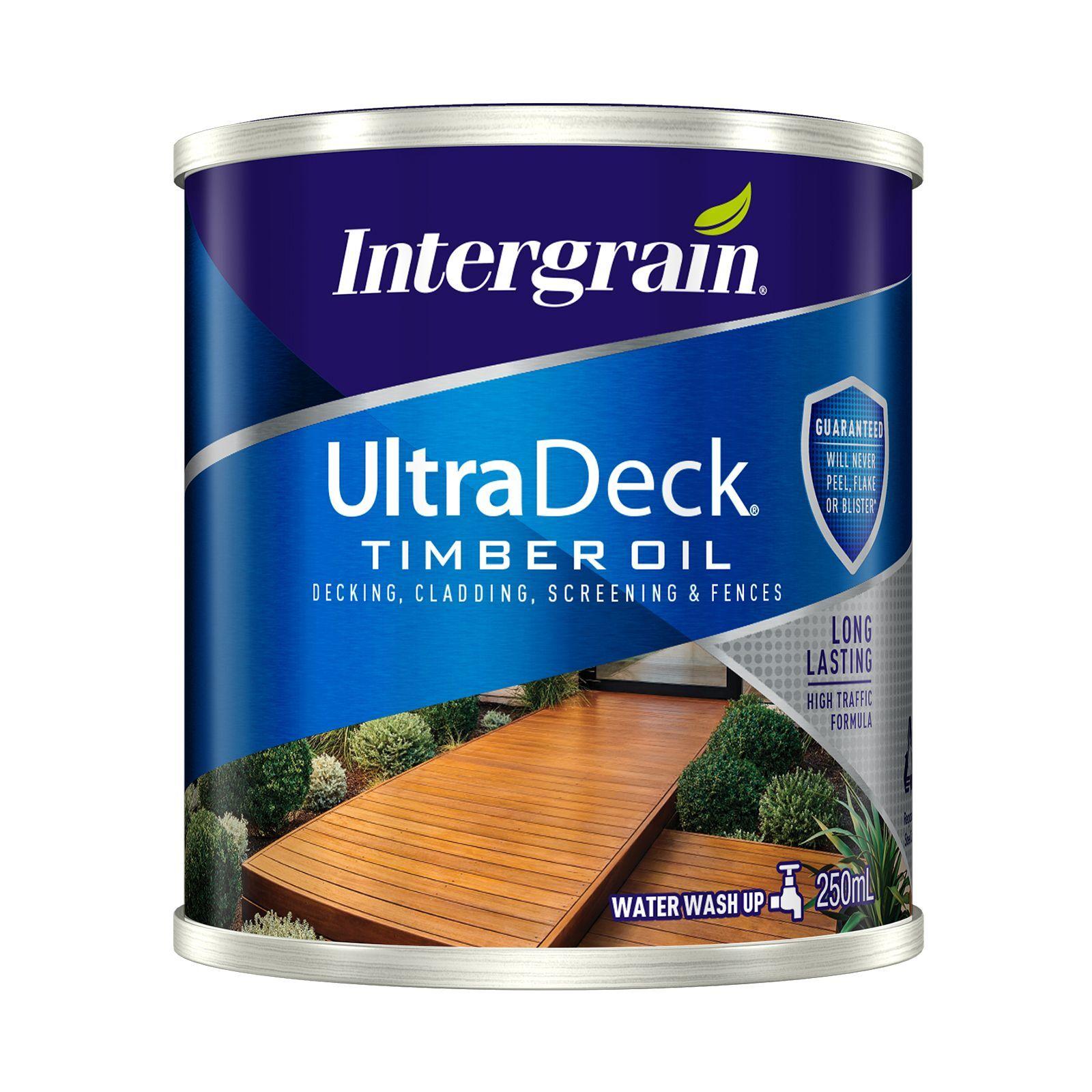 Intergrain 250ml Merbau UltraDeck Timber Decking Oil