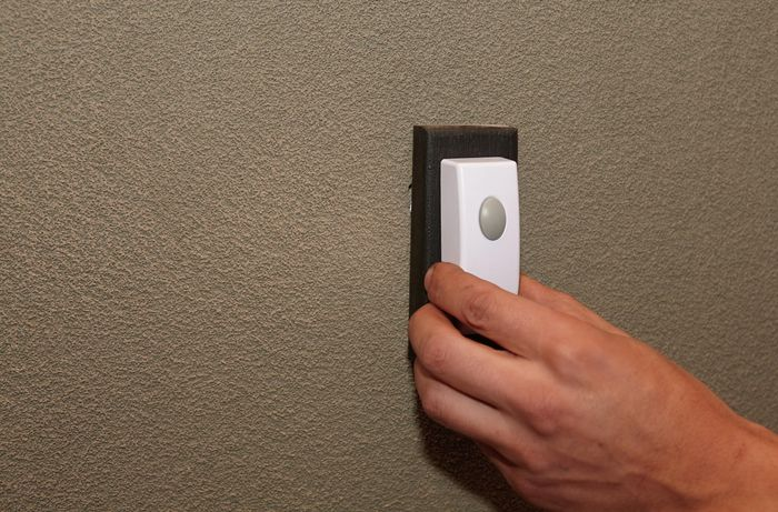 DIY Step Image - How to install a door bell . Blob storage upload.