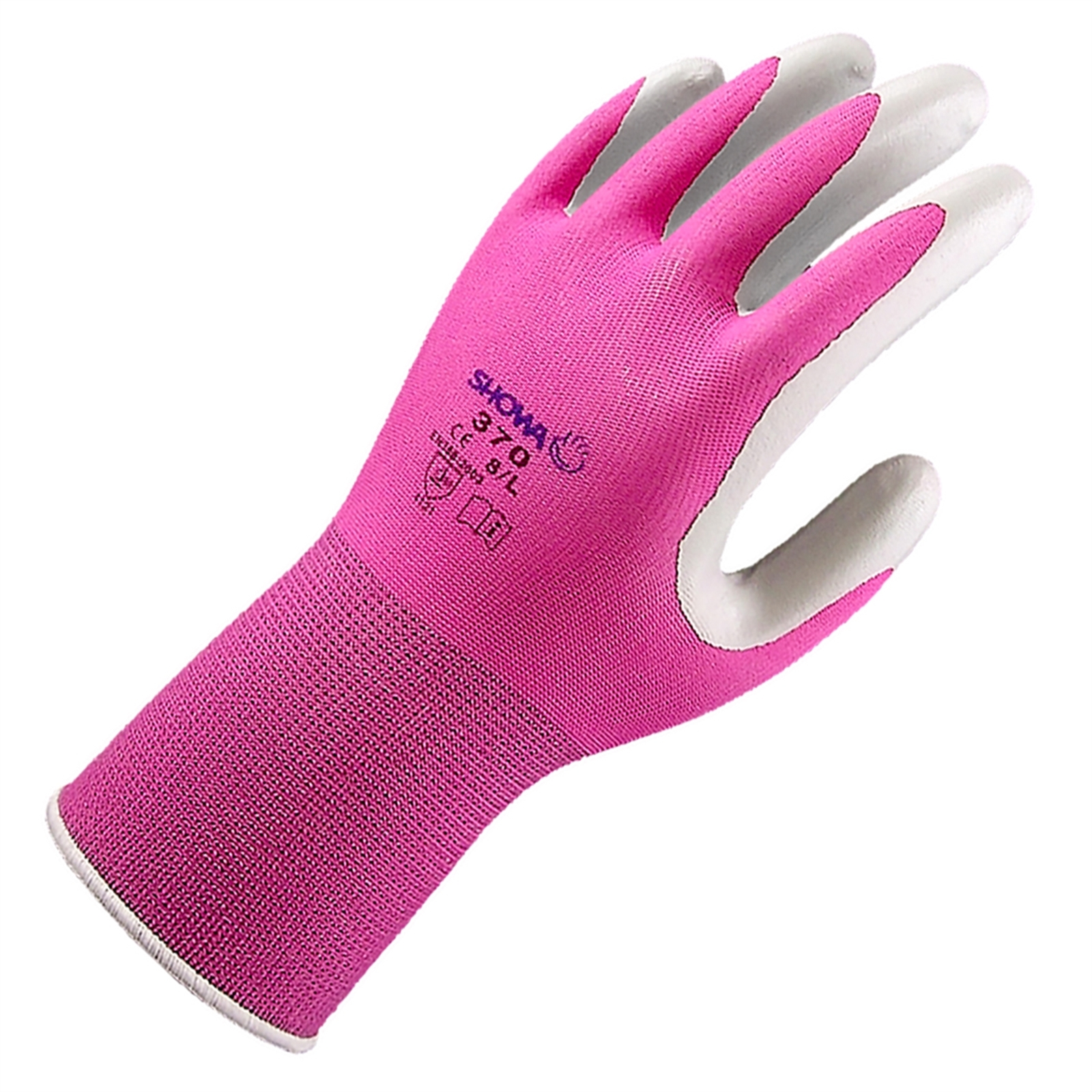 Lynn River Medium Multi-Coloured Showa 370 Nitrile Gardening Gloves