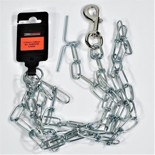 Taskmaster 2.5mm x 180cm Dog Chain