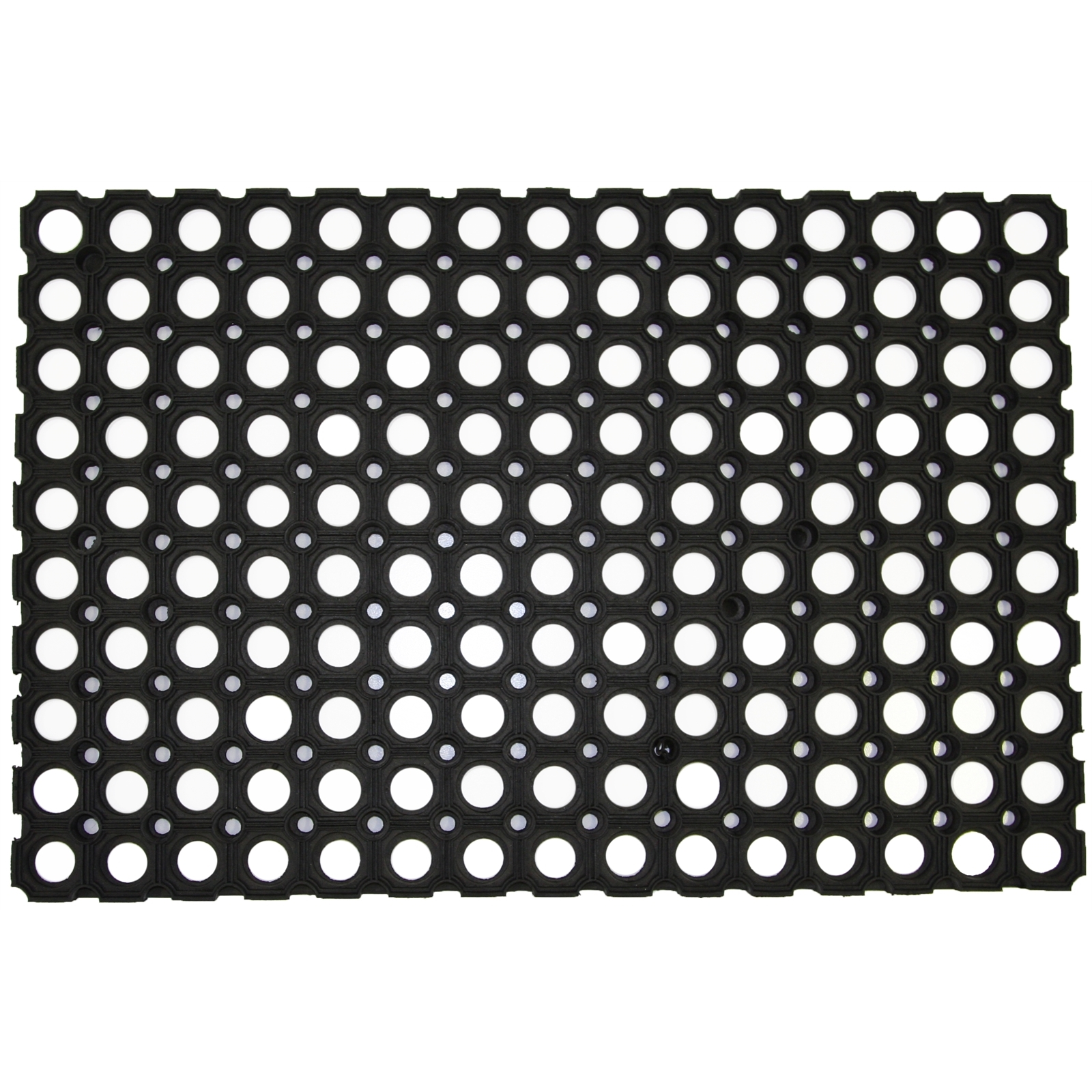 Bayliss 100 x 150cm Black Rubber Ring Commercial Mat