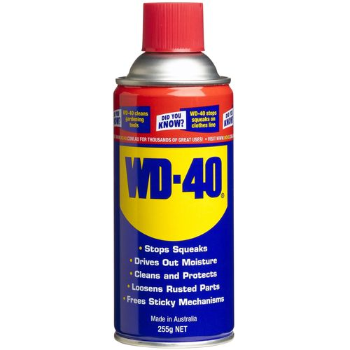 WD-40 255g Aerosol Can Lubricant