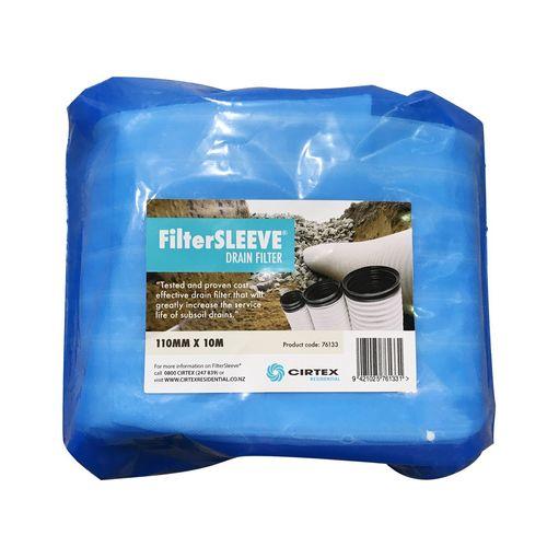 Cirtex 110mm x 10m FilterSleeve Drain Filter