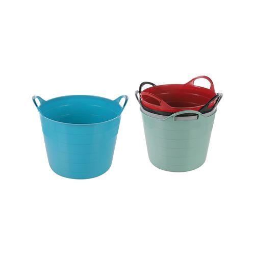 Ezy Storage 16L Assorted Colours Storage Tub