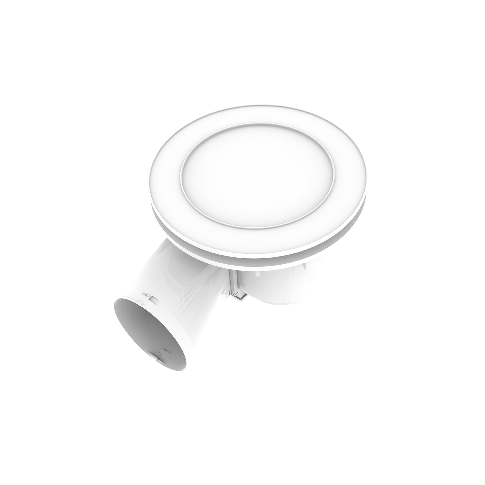 IXL 200mm Ducted Ventflo Ceiling Exhaust Fan And Light