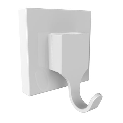 Fusion-Loc 13kg Hook White Suction Bathroom Accessory