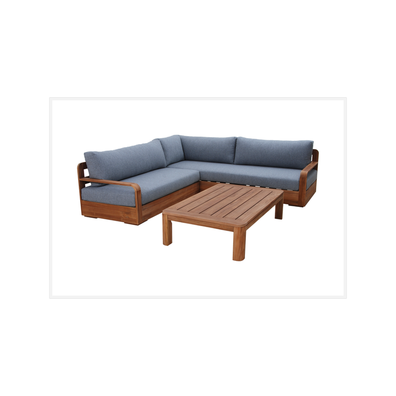 Mandala Timber Corner Lounge Setting