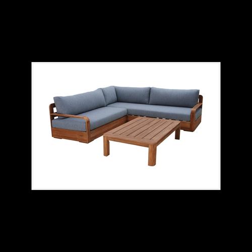 Mimosa Mandala Timber Corner Lounge Setting
