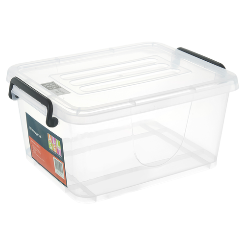 All Set 10L Clear Plastic Storage Container