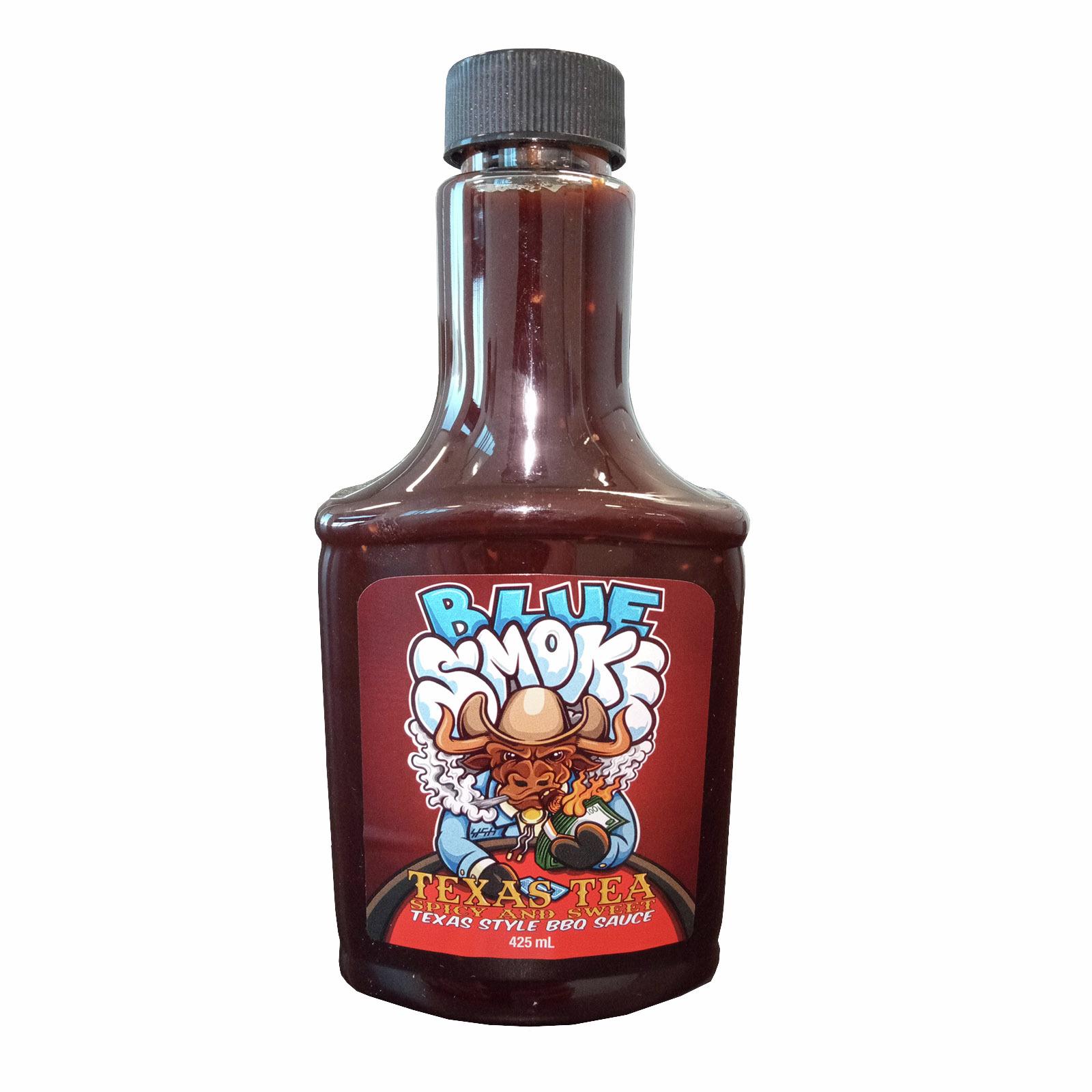 Blue Smoke 425ml BBQ Sauce - Texas .461kg