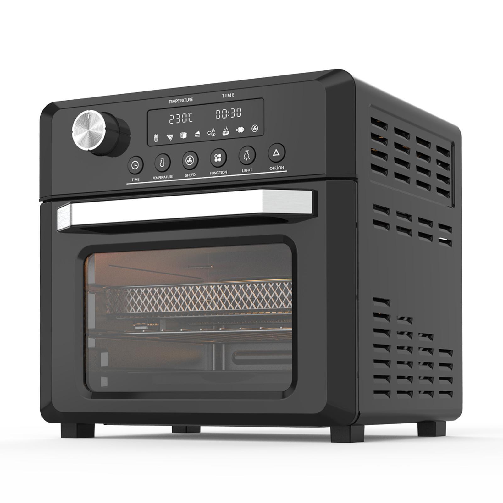 Pronti 18L 1500W Black Electric Air Fryer