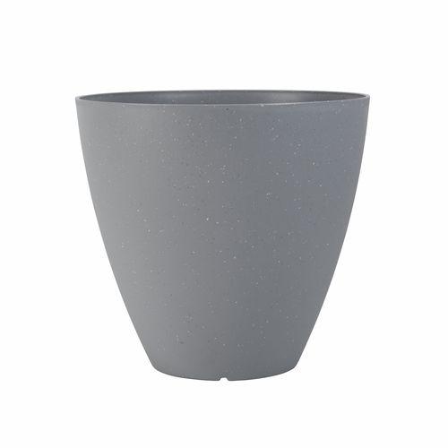 Northcote Pottery 37cm Grey Terrazzo Self Watering Pot