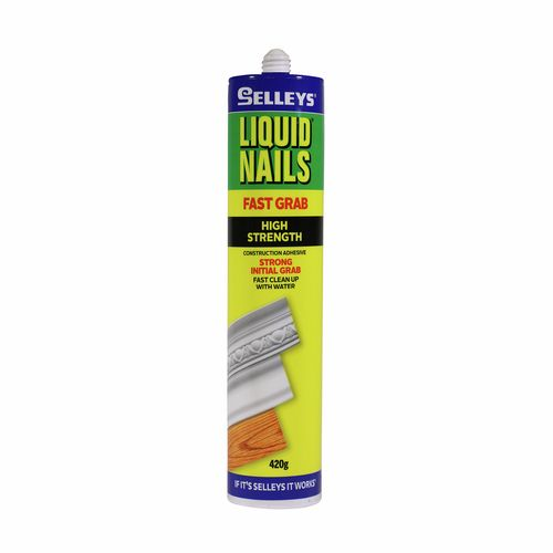 Selleys 420g Liquid Nails Fast Grab Strong Adhesive