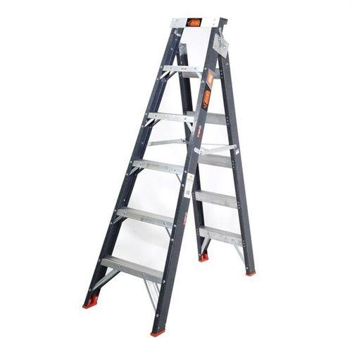 Rhino 1.8 - 3.2m 150kg Dual Purpose Industrial Fibreglass Step Ladder