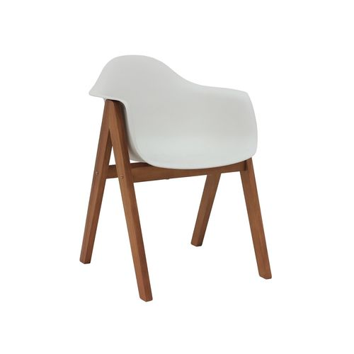 Hartman Delta Timber Dining Chair - White