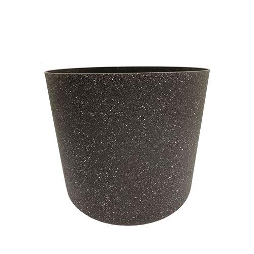 Eden 18cm Charcoal Stonelite Sphere Planter