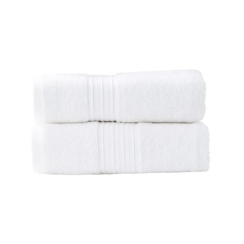 Renee Taylor Brentwood 2 Piece White Bath Sheet Pack