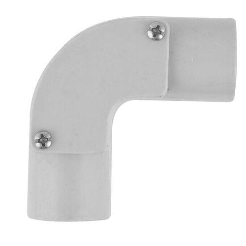 Deta 20mm Grey Conduit Fittings Inspection Elbow