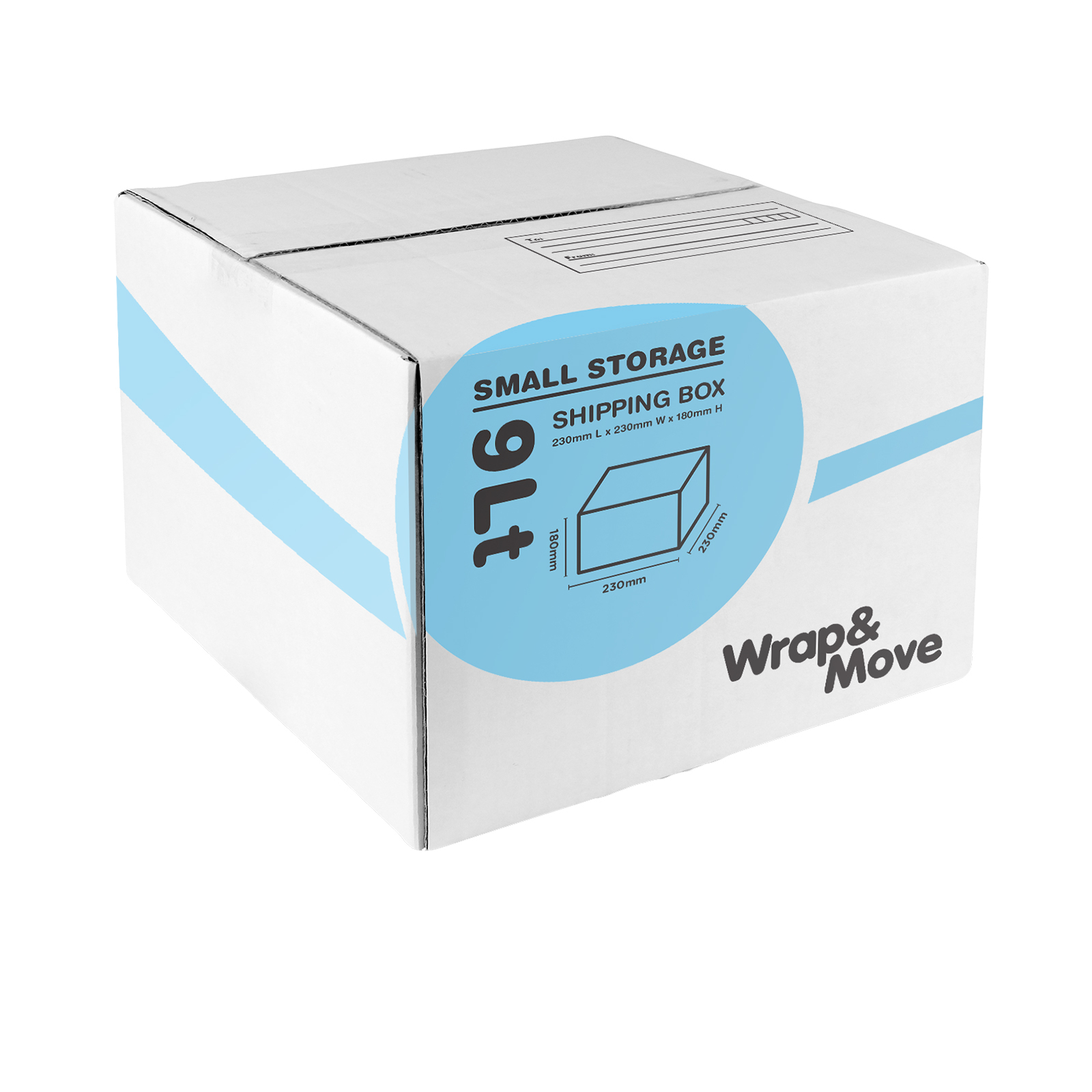 Wrap & Move 230 x 230 x 180mm 9L Small Mailing Box