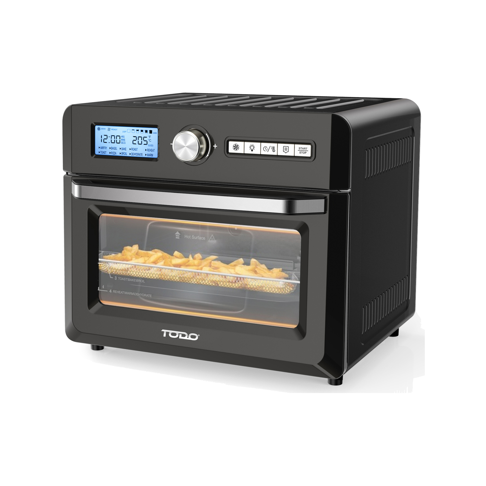 TODO 1550W 18L Air Fryer Oven w/ Rotisserie Grill