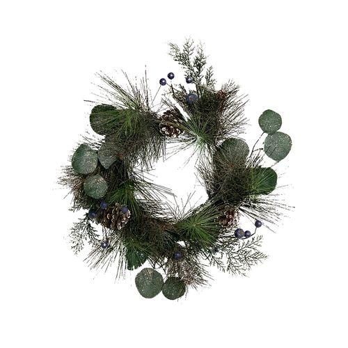 Un-Real 40cm Christmas Glitter Wreath