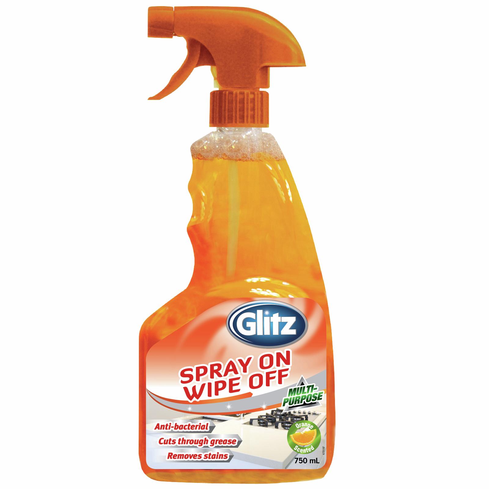 Glitz 750ml Spray On Wipe Off