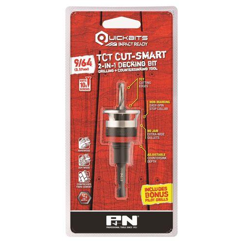 P&N 10G Quickbit TCT Cut Smart Countersink Drill Bit
