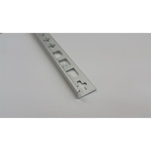QEP L Angle Trim  8mm x 2.5m Matt Silver