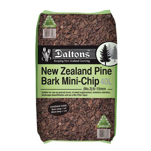 Daltons Bark Mini Chip Number 3 40L