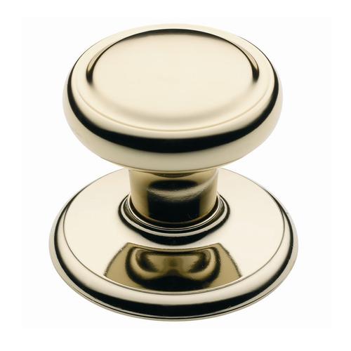 Schlage 45mm Bright Gold Classic Diplomat Wardrobe Knob