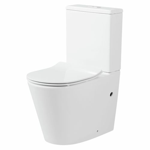 Mondella WELS 4 Star 3.4L/min Concerto Back To Wall Rimless Toilet Suite