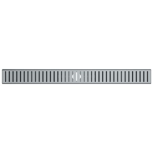 Stein 900 x 80 x 20mm Quick Tile Channel Drain Kit